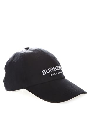BASEBALL CAP IN BLACK COTTON WITH LOGO SS 2019 BURBERRY | 17 | 80106351A1189