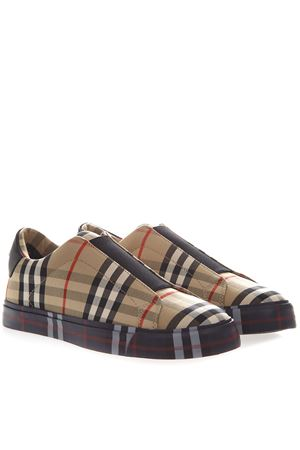SLIP ON TARTAN COTTON SNEAKER SS 2019 BURBERRY | 55 | 80109081A1435