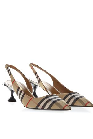 VINTAGE CHECK SLINGBACK PUMPS SS 2019 BURBERRY | 68 | 80109641A7026