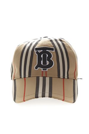 BEIGE COTTON ICON BASEBALL HAT SS 2019 BURBERRY | 17 | 80119521A7029