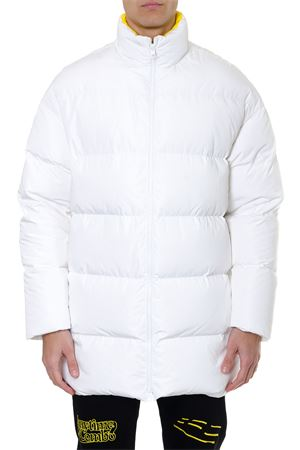 WHITE DOWN JACKET WITH BACK LOGO  SS 2019 CALVIN KLEIN JEANS EST.1978 | 27 | J90J9000151001