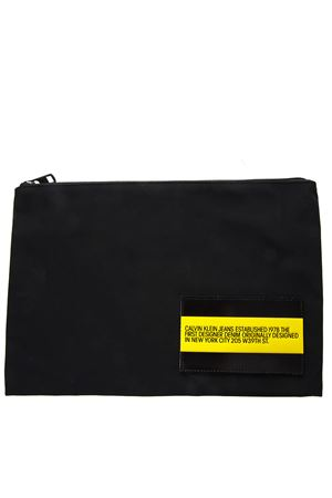 POUCH IN BLACK TECHNICAL FABRIC WITH LOGO SS 2019 CALVIN KLEIN JEANS EST.1978 | 2 | J90J9001271099