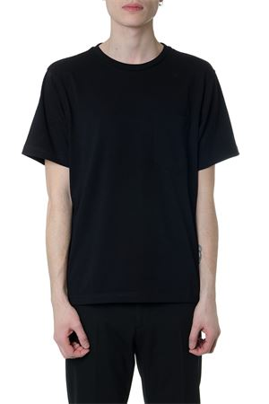 BLACK COTTON OVERSIZED T-SHIRT  CALVIN KLEIN | 15 | K10K103340UNI013