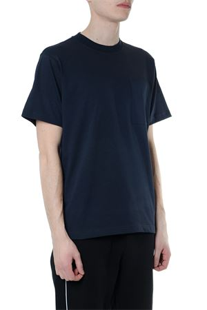 BLUE COTTON T-SHIRTWITH CHEST POCKET SS 2019 CALVIN KLEIN | 15 | K10K103345UNI484