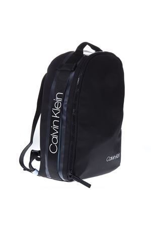 UNISEX BLACK FAUX LEATHER BACKPACK SS19 CALVIN KLEIN | 183 | K50K504197UNI001