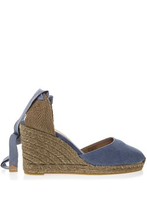 LIGHT BLUE CARINA CANVAS ESPADRILLAS WEDGES SS 2019 CASTANER | 144 | 020868CARINA310