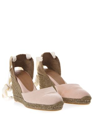 ROSE CARINA CANVAS ESPADRILLE WEDGES SS 2019 CASTANER | 144 | 020868CARINA803