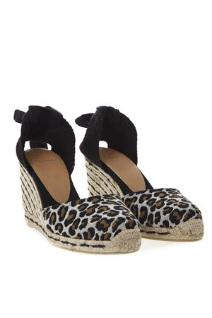 5cd5c2811974 ... 021112CARINA100 LEOPARD CARINA COTTON CANVAS ESPADRILLAS SS 2019  CASTANER