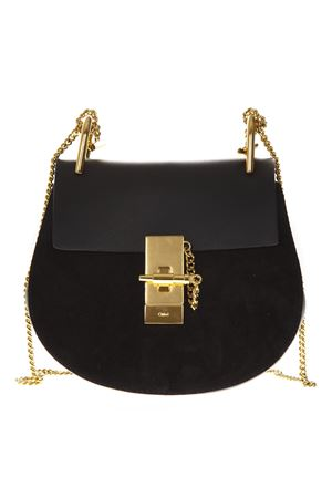 MINI DREW BLACK SUEDE & LEATHER BAG SS 2019 CHLOÉ | 2 | CHC15WS032H5IUNI001