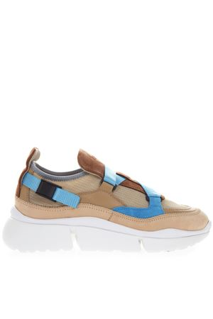SONNIE SNEAKERS IN BEIGE AND BROWN CALFSKIN SS 2019 CHLOÉ | 55 | CHC19U19018UNI244
