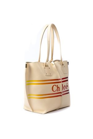 BEIGE LEATHER LOGO BAG SS 19 CHLOÉ | 2 | CHC19US130B21UNI290