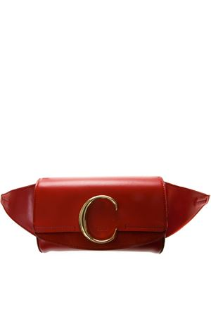 RED LEATHER BELT BAG SS19 CHLOÉ | 2 | CHC19US195A37UNI640