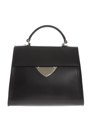 BLACK LEATHER SMALL TOTE BAG SS 2019 COCCINELLE | 2 | E1 D12 18 03 01DESIGN001