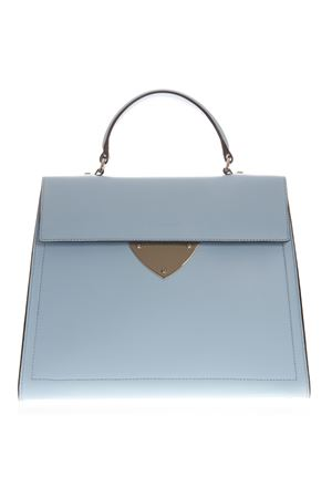 LIGHT BLUE LEATHER TOTE BAG SS 2019 COCCINELLE | 2 | E1 D12 18 04 01DESIGNB07