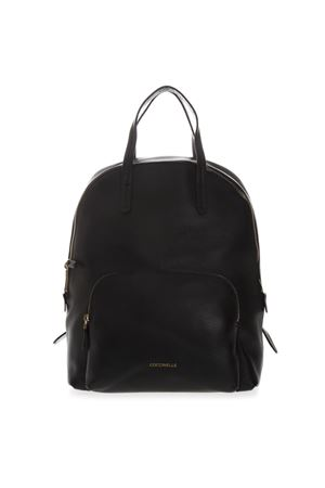 LEATHER BACKPACK IN BLACK COLOR SS 2019 COCCINELLE | 183 | E1 DC5 14 01 01DIONE001