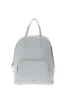 LEATHER BACKPACK IN WHITE COLOR SS 2019 COCCINELLE | 183 | E1 DC5 14 01 01DIONEH10