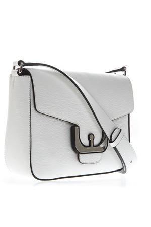 WHITE SHOULDER BAG IN LEATHER SS 2019 COCCINELLE | 2 | E1 DJ5 15 01 01AMBRINE CROSSH10