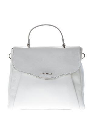 ANDROMEDA MEDIUM WHITE LEATHER BAG SS19 COCCINELLE | 2 | E1 DR5 18 01 01ANDROMEDAH10