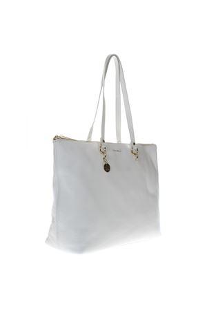 ALPHA WHITE LEATHER BAG SS19 COCCINELLE | 2 | E1 DS5 11 01 01ALPHAH10