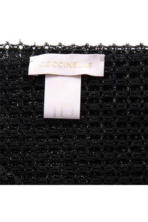 BLACK NETTING DESIGN SCARVE SS19 COCCINELLE | 20 | E7 DY1 35 13 01LINEA SHYLA001