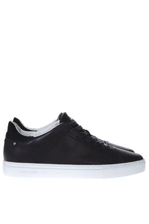 BATTERE BLACK LEATHER SNEAKERS SS19 CRIME LONDON | 55 | 11112120