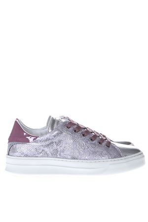 SNEAKERS BATTERE ARGENTO E ROSA PE19 CRIME LONDON | 55 | 25608173