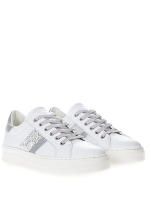 SNEAKERS SONIK IN PELLE BIANCA PE 2019 CRIME LONDON | 55 | 25640110