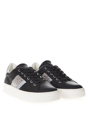 SNEAKERS SONIK IN PELLE NERA PE 2019 CRIME LONDON | 55 | 25643120