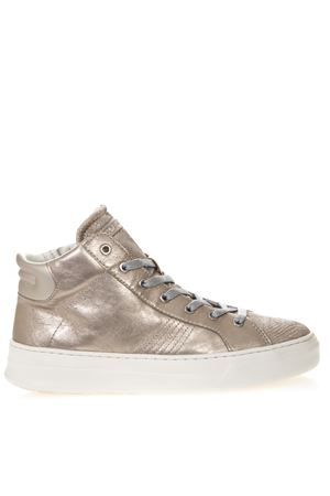 SNEAKERS ALTE NUDE IN PELLE METALLIZZATA PE 2019 CRIME LONDON | 55 | 25681123
