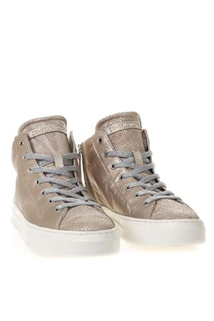 SNEAKERS ALTE NUDE IN PELLE METALLIZZATA PE 2019 CRIME | 55 | 25681123