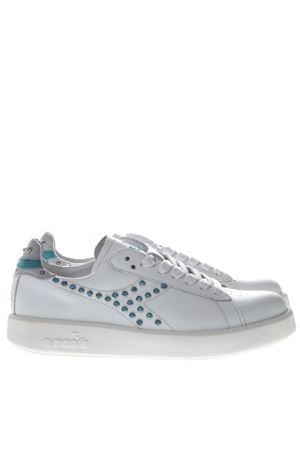 SNEAKERS GAME H STUDS IN PELLE BIANCA PE 2019 DIADORA | 55 | 201.174756GAME H STUDS W BIANCO