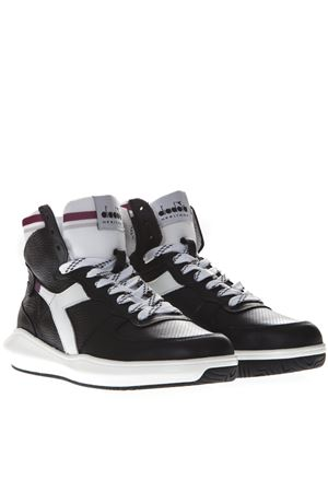 f7f1728d2fb9 MI BASKET H MDS IN BLACK LEATHER SNEAKERS SS 2019 DIADORA HERITAGE