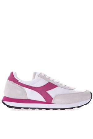 WHITE AND PINK KOALA H SNEAKERS IN SUEDE AND NYLON SS 2019 DIADORA | 55 | 201.175160KOALA HBIANCO/AZALEA