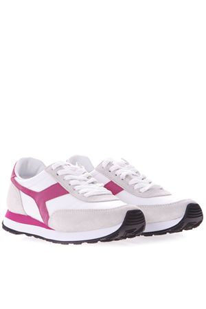 WHITE AND PINK KOALA H SNEAKERS IN SUEDE AND NYLON SS 2019 DIADORA HERITAGE | 55 | 201.175160KOALA HBIANCO/AZALEA