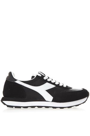 BLACK AND WHITE KOALA H SNEAKERS IN SUEDE AND NYLON SS 2019 DIADORA | 55 | 201.175160KOALA HNERO/BIANCO