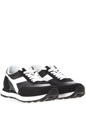 BLACK AND WHITE KOALA H SNEAKERS IN SUEDE AND NYLON SS 2019 DIADORA HERITAGE | 55 | 201.175160KOALA HNERO/BIANCO