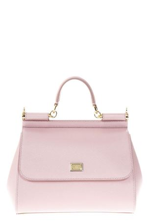PINK SICILY MEDIUM DAUPHINE LEATHER BAG SS 2019 DOLCE & GABBANA | 2 | BB6002A100180414