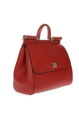 DAUPHINE RED LEATHER SICILY BAG SS 2019 DOLCE & GABBANA | 2 | BB6015A100180303