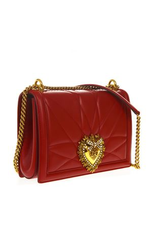 RED LARGE DEVOTION BAG IN QUILTED NAPPA LEATHER SS 2019 DOLCE & GABBANA | 2 | BB6651AV96787124