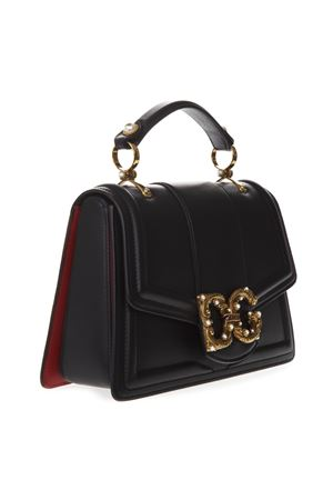 AMORE BAG IN BLACK LEATHER WITH LOGO SS 2019 DOLCE & GABBANA | 2 | BB6675AK2968B941