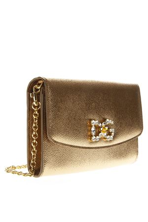 GOLDEN LEATHER WALLET ON CHAIN SS19 DOLCE & GABBANA | 34 | BI1028AC18487498