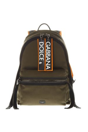 DG ARMY GREEN CANVAS BACKPACK SS19 DOLCE & GABBANA | 183 | BM1607AZ8258B617