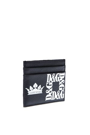 BLACK CREDIT CARD HOLDER IN LEATHER SS 2019 DOLCE & GABBANA | 110000025 | BP0330AK443HNY47