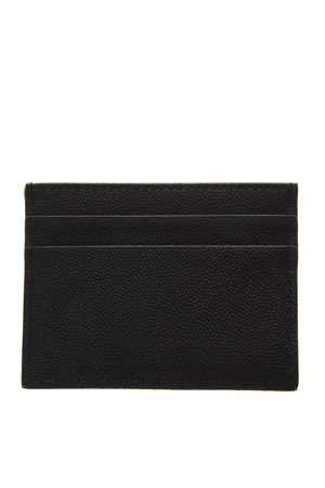BLACK LEATHER CREDIT CARD HOLDER SS19 DOLCE & GABBANA | 110000025 | BP0330AZ6018B956