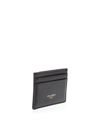 CARD HOLDER IN BLACK CALF LEATHER SS 2019 DOLCE & GABBANA | 110000025 | BP2459AZ60780999