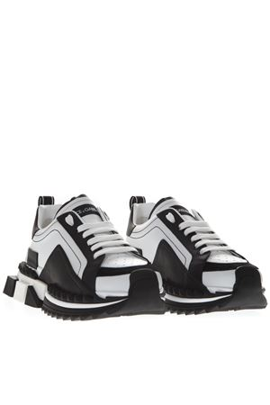 SNEAKERS SUPER KING BICOLORE IN PELLE PE19 DOLCE & GABBANA | 55 | CS1649AZ69289697
