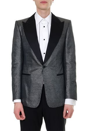 BLAZER JACQUARD SINGLE BREAST JACKET SS19 DOLCE & GABBANA | 14 | G2MN9TFJM07S8350
