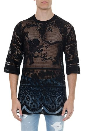 BLACK COTTON EMBROIDERED T SHIRT SS 2019 DOLCE & GABBANA | 15 | G8FY2THHMBDS8401
