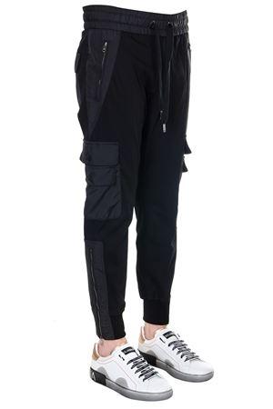 BLACK COTTON JOGGING PANTS SS19 DOLCE & GABBANA | 8 | GYIVETFUFHTN0000