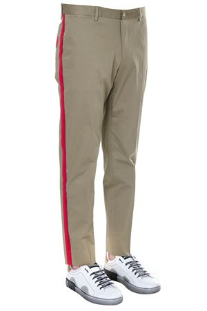 COTTON LATERAL BANDS PANTS SS19 DOLCE & GABBANA | 8 | GYNVETFUFISM0724